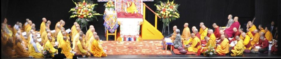 Banner HH Dalai Lama Teaching